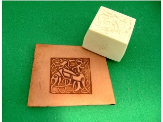 Celtic Set of 2 Square