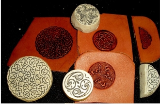 Celtic Emboss Plates Round