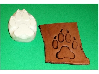 Paw Print Small